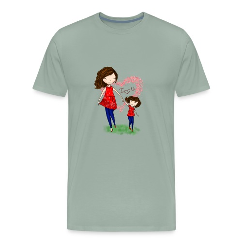 To show love between mother and daughter - Men's Premium T-Shirt