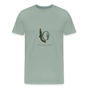 Lawyers, Guns and Money Logo - Men's Premium T-Shirt