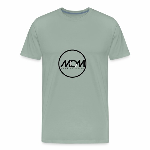 MOM Black 00 - Men's Premium T-Shirt