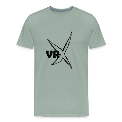 VRX logo - black - Men's Premium T-Shirt