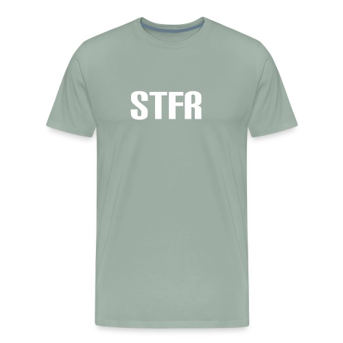 STFR White - Men's Premium T-Shirt