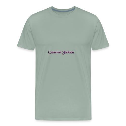 Cameron Jackson Lightning Logo - Men's Premium T-Shirt
