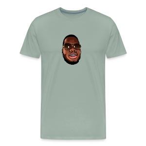 Wooukie Face - Men's Premium T-Shirt