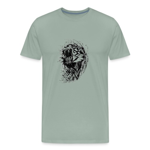 Roaring Tiger - Men's Premium T-Shirt