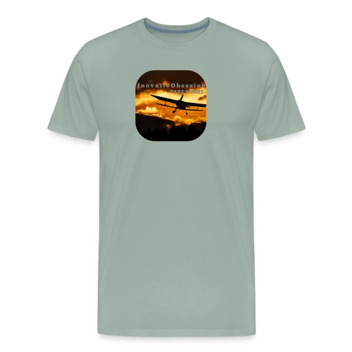 "InovativObsesion ""TAKE FLIGHT"" apparel - Men's Premium T-Shirt"