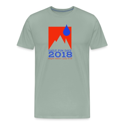 Eagle Fun Days 2018 Mountain - Men's Premium T-Shirt