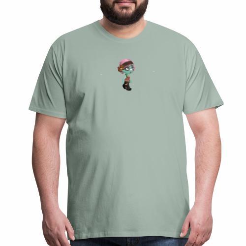 Glitch Cimm - Men's Premium T-Shirt
