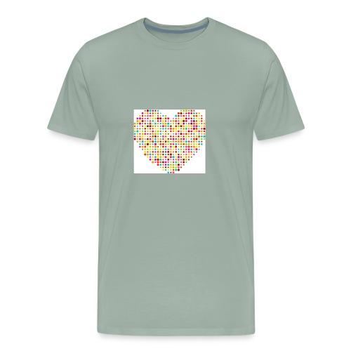 Baby heart. - Men's Premium T-Shirt