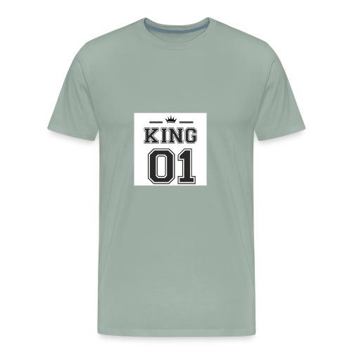 meska king 01 - Men's Premium T-Shirt