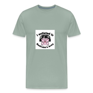 I enlisted in Beefcake's Army - Men's Premium T-Shirt