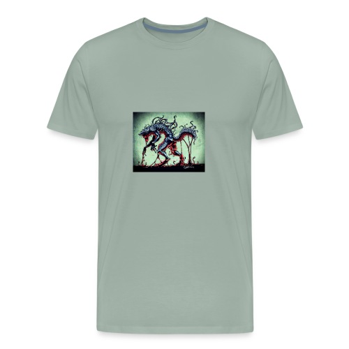 Demon wolf - Men's Premium T-Shirt