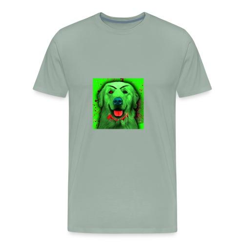 Zombie Dog Hoodie - Men's Premium T-Shirt