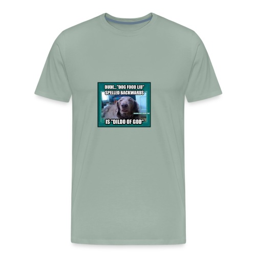 Dog meme - Men's Premium T-Shirt