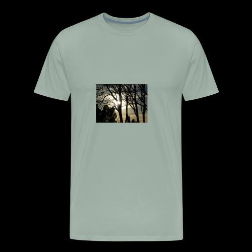 sun through the trees - Men's Premium T-Shirt
