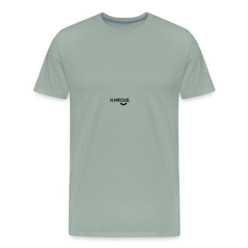 H.MROUE SMILE - Men's Premium T-Shirt