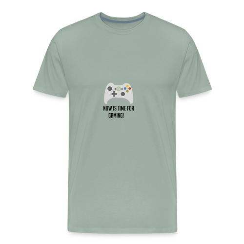 Now its time for Gaming - Men's Premium T-Shirt