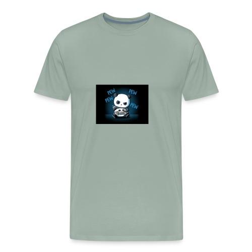 Pandafuzzy hoodie - Men's Premium T-Shirt
