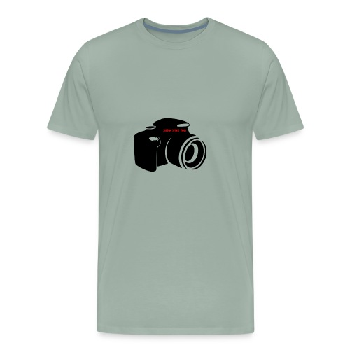 vlog for life - Men's Premium T-Shirt