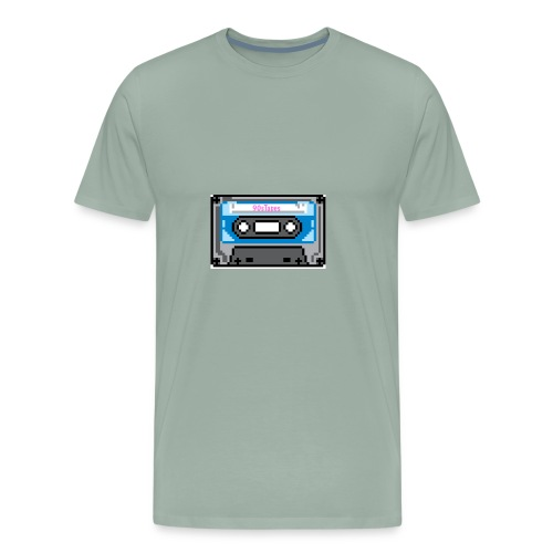 90s Tapes Brand Logo - Men's Premium T-Shirt