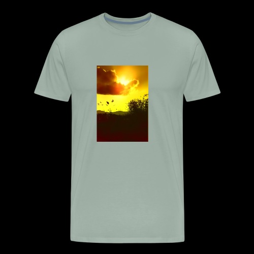 Sun Soaked Sky - Men's Premium T-Shirt
