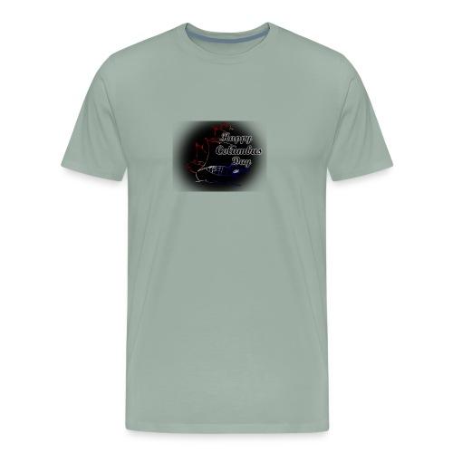 Columbus Days negro - Men's Premium T-Shirt