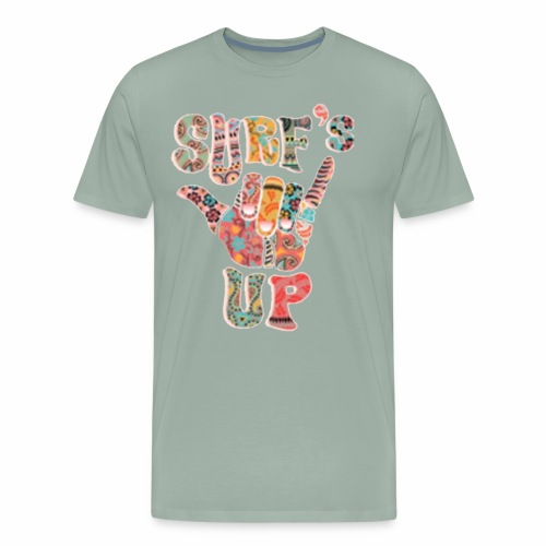 Surf up - Men's Premium T-Shirt