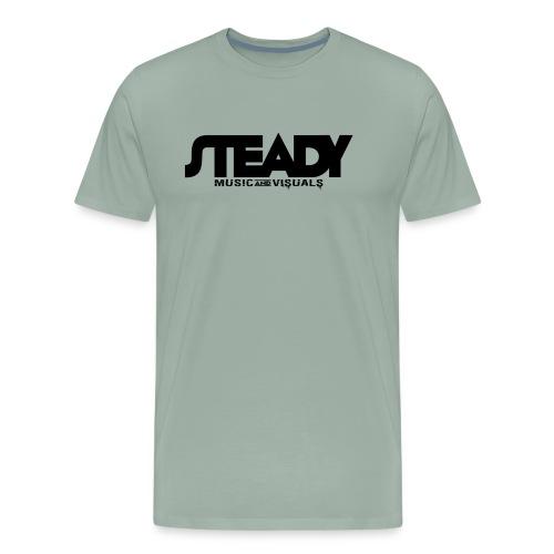 STEADY LOGO - Men's Premium T-Shirt