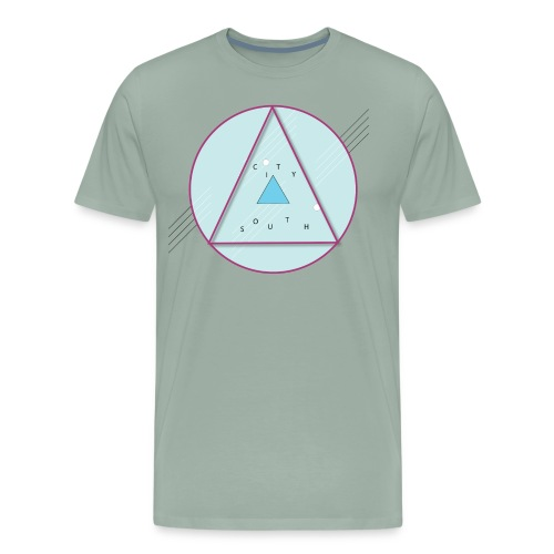 City South Triangle - Men's Premium T-Shirt