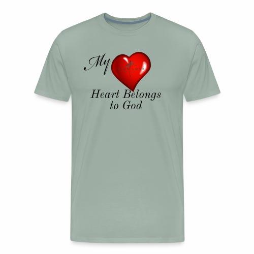 My Heart T Shirt - Men's Premium T-Shirt