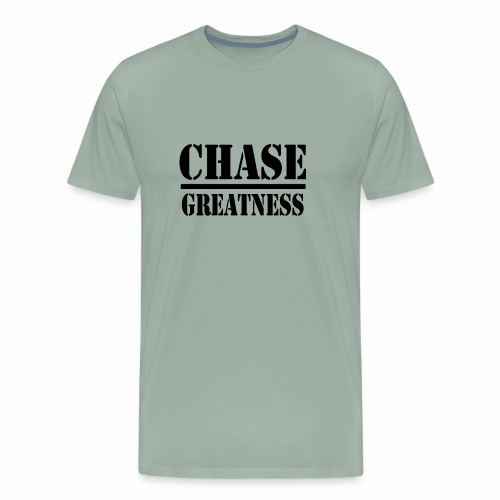Chase Greatness - Men's Premium T-Shirt