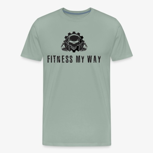 Fitness My Way - Men's Premium T-Shirt
