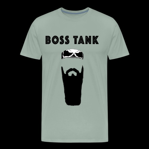 Beard Bandana MERCH - Men's Premium T-Shirt