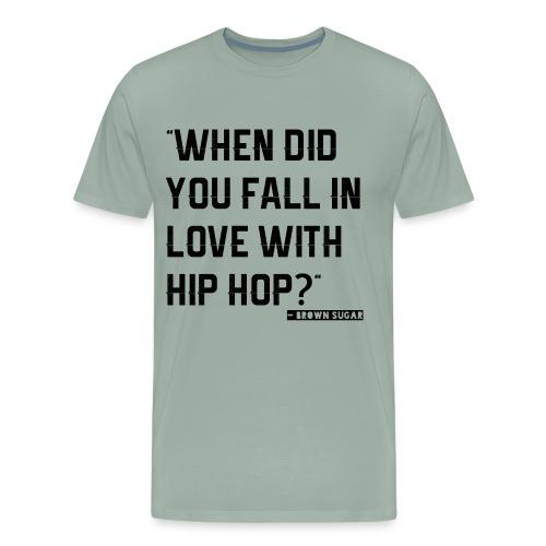 love with hip hop - Men's Premium T-Shirt