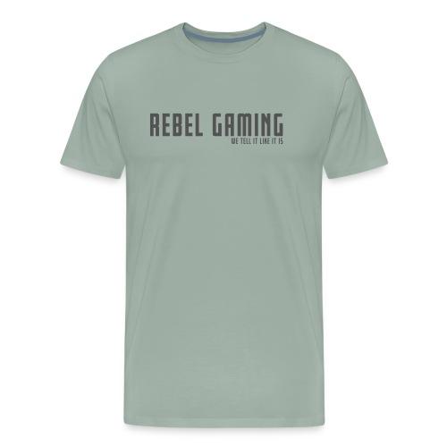Rebel Gaming We Tell It Like It Is - Men's Premium T-Shirt
