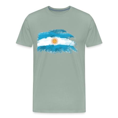 Bandera Argentina - Men's Premium T-Shirt