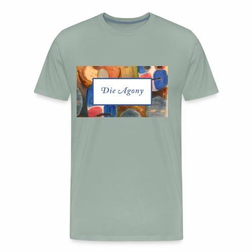 die agony1 - Men's Premium T-Shirt