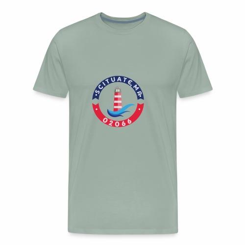 Scituate MA 02066 - Men's Premium T-Shirt