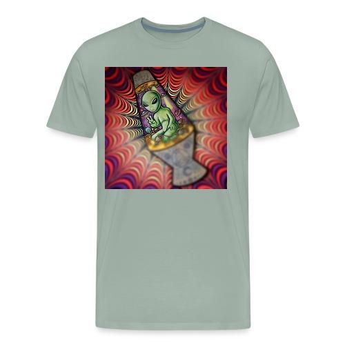 Lava alien - Men's Premium T-Shirt