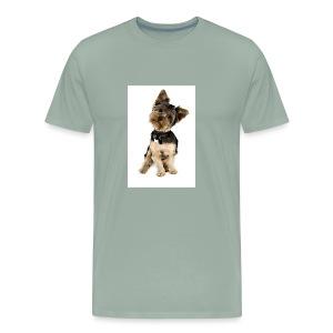 Curious pup - Men's Premium T-Shirt
