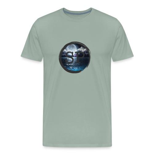 SHOCK PLAYZ WAVIES - Men's Premium T-Shirt