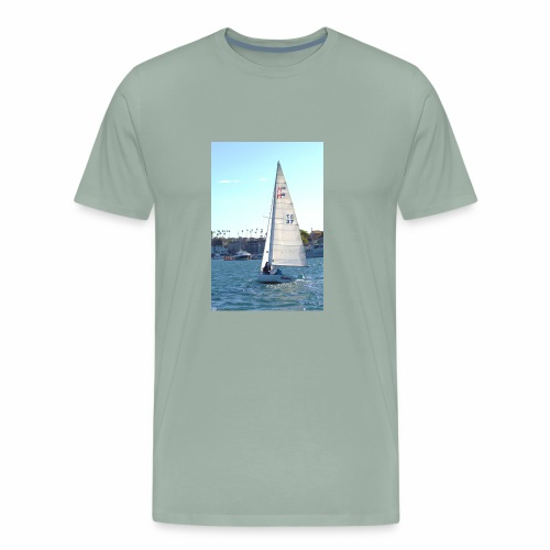Sea, Sun, and Sails - Men's Premium T-Shirt