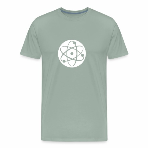 Atom Geek funny tshirt - Men's Premium T-Shirt