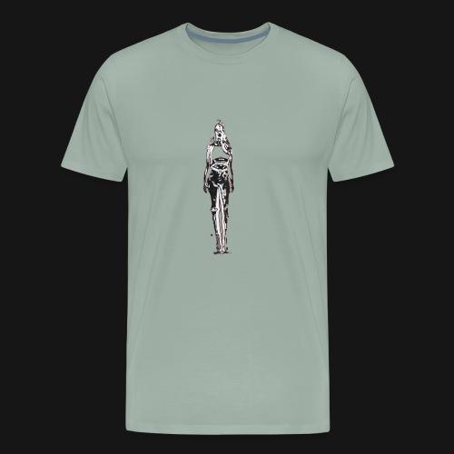 IRON GIRL - Men's Premium T-Shirt