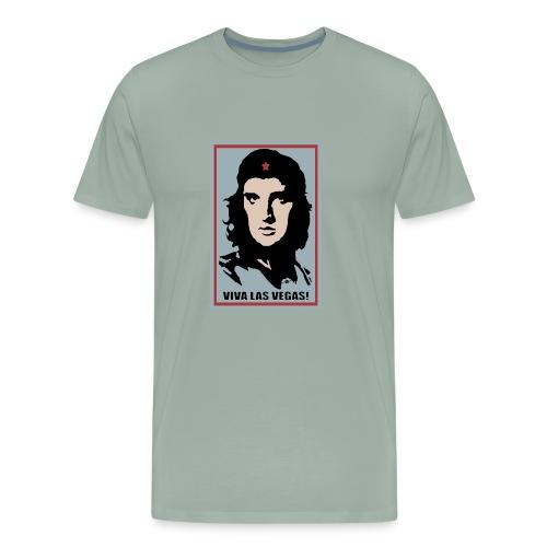 Elvis Che Guevara Viva Las Vegas - Men's Premium T-Shirt