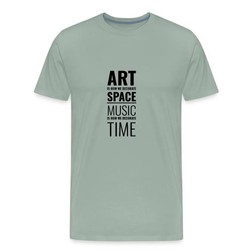 Art & Music - Men's Premium T-Shirt