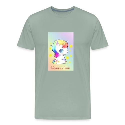 Unicorn Cute - Men's Premium T-Shirt