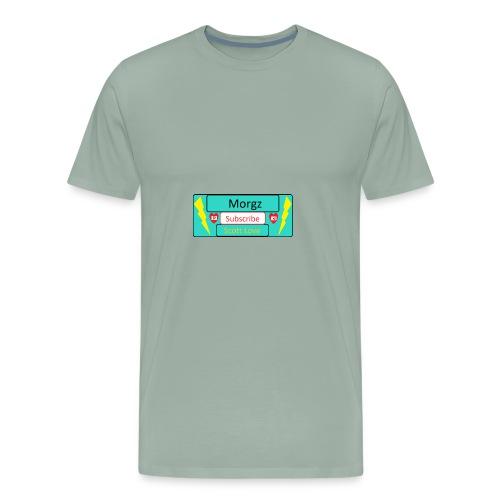 Morgz/Itz Alex Subscribe Logo - Men's Premium T-Shirt