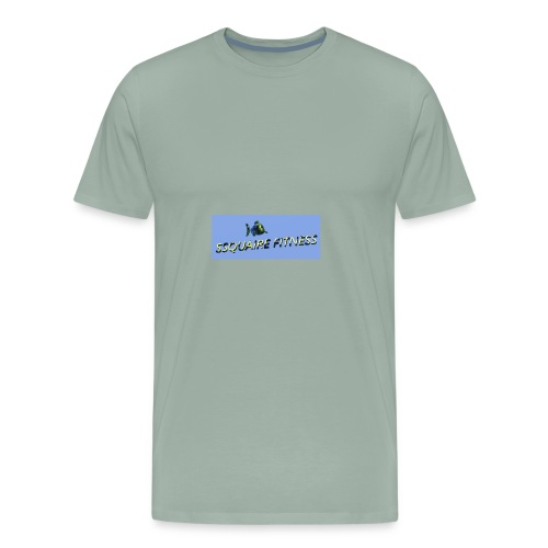 Ssquaire Fitness Underwater - Men's Premium T-Shirt
