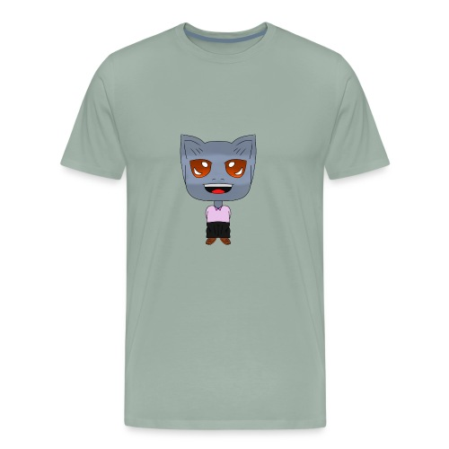 Cat kawaii - Men's Premium T-Shirt