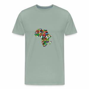 AfricaMap - Men's Premium T-Shirt
